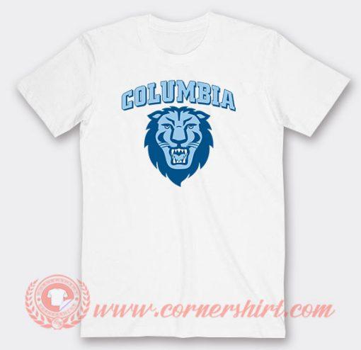 Columbia University Lions Custom T-Shirts