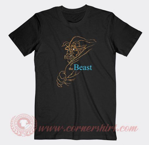 Disney Beauty And The Beast Custom T Shirts