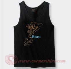 Disney Beauty And The Beast Custom Tank Top