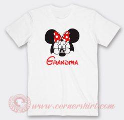 Disney Grandma Minnie Mouse Custom T Shirts