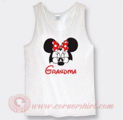 Disney Grandma Minnie Mouse Custom Tank Top