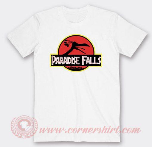 Disney Up Paradise Falls Custom T Shirts