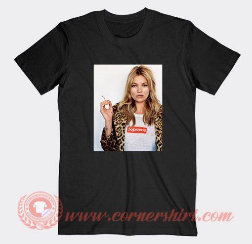 Hailey Kate Moss Supreme Custom T-Shirts