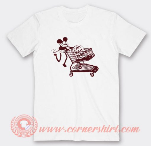 Mickey Can't Wait To Die Custom T-Shirts