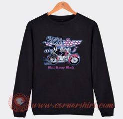 Mickey Mouse Motorcycle Custom Sweatshirt