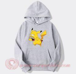 Pikachu Homer Simpson Custom Hoodie