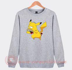 Pikachu Homer Simpson Custom Sweatshirt