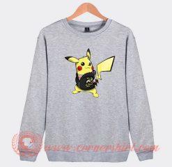 Pikachu Hypebeast X Supreme Custom Sweatshirt
