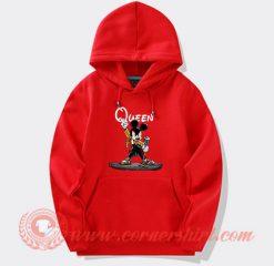 Queen Freddie Mercury Mickey Mouse Custom Hoodie