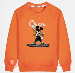 Queen Freddie Mercury Mickey Mouse Custom Sweatshirt