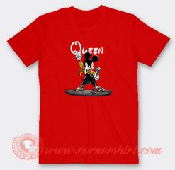 Queen Freddie Mercury Mickey Mouse Custom T-Shirts