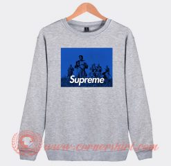 Seven Samurai X Supreme Custom Sweatshirt