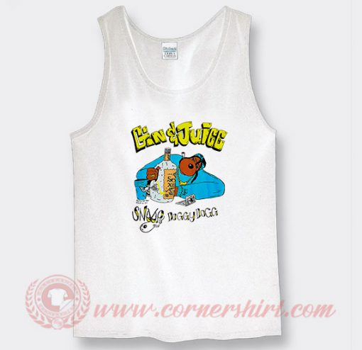 Snoop Dogg Gin And Juice Custom Tank Top