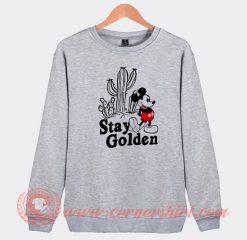 Stay Golden Mickey Mouse Custom Sweatshirt