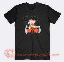 Supreme Goku Sleep Custom T-Shirts