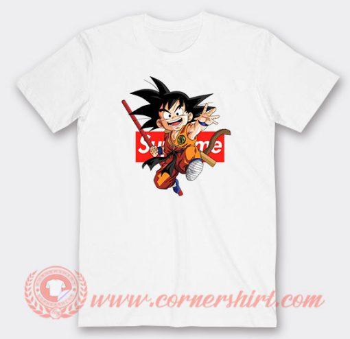 Supreme Goku Custom T-Shirts