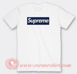 Supreme NY Font Custom T-Shirts