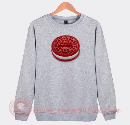 Supreme Oreo Custom Sweatshirt
