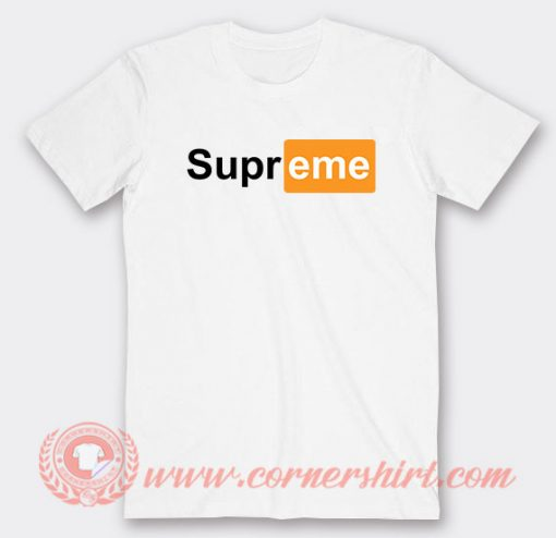 Supreme Pornhub Custom T-Shirts