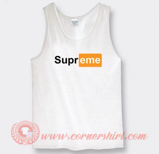 Supreme Pornhub Custom Tank Top