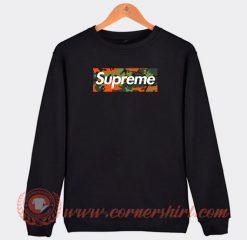 Supreme X Camo Hunter Orange Army Custom Sweatshirt