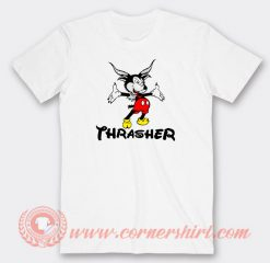 Thrasher Mickey Mouse Custom T-Shirts