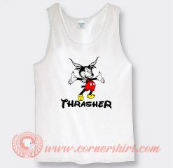 Thrasher Mickey Mouse Custom Tank Top