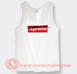 Too Broke For Supreme Muschi Kreuzberg Custom Tank Top