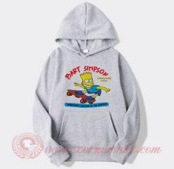 Vintage 1990 Bart Simpson Custom Hoodie