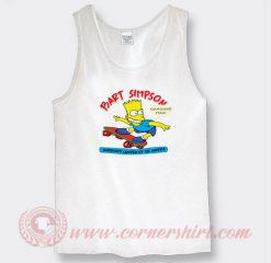 Vintage 1990 Bart Simpson Custom Tank Top