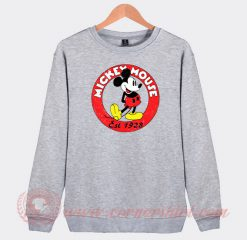 Vintage Mickey Mouse Est 1928 Custom Sweatshirt