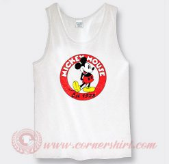 Vintage Mickey Mouse Est 1928 Custom Tank Top