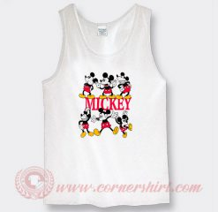 Vintage Mickey Mouse Pose Custom Tank Top