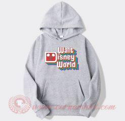 Vintage Walt Disney Logo Custom Hoodie