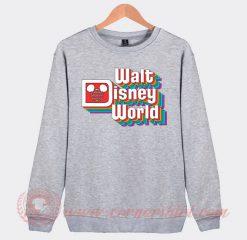 Vintage Walt Disney Logo Custom Sweatshirt