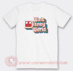 Vintage Walt Disney Logo Custom T Shirts