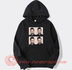 Adam Levine Maroon 5 Face Hoodie