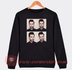 Adam Levine Maroon 5 Face Sweatshirt
