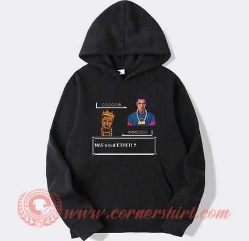 Nas Used Ether Pixel Hoodie