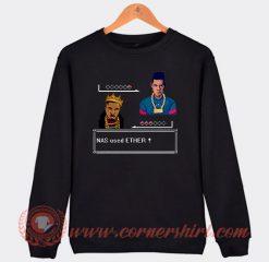 Nas Used Ether Pixel Sweatshirt