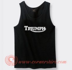 Triumph Motorcycle Custom Tank Top