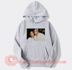 Tupac And Selena Quintanella Photos Hoodie