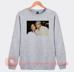 Tupac And Selena Quintanella Photos Sweatshirt