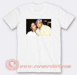 Tupac And Selena Quintanella Photos T-Shirts