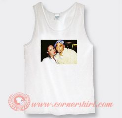 Tupac And Selena Quintanella Photos Tank Top