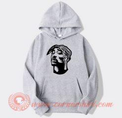 Tupac Sakur Face Hoodie