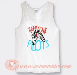 Twenty One Pilots Skull Hands Tank Top