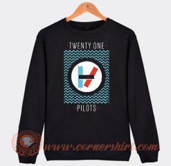 Twenty One Pilots Slogan Sweatshirt