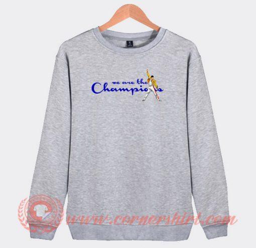 Freddie Mercury We Are The Champions Sweatshirt