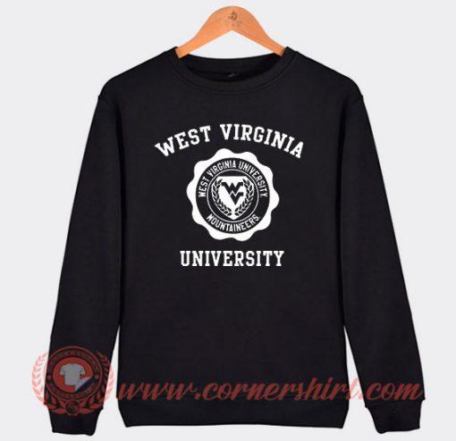West Virginia University Custom Sweatshirt